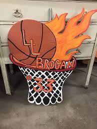 Custom Sports Basketball Yard Art Sign By Fabsspiritcentral Poster IdeasBasketball