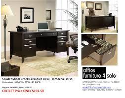 Sauder Heritage Hill 65 Executive Desk by Sauder Desk Furniture
