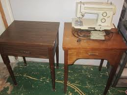 Vintage Kenmore Sewing Machine In Cabinet by The Valley Woodworker Swapping Sewing Machine In Cabinets