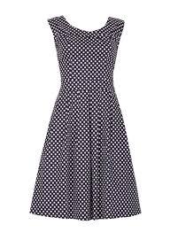 1940s 1950s polka dot dresses