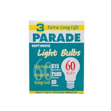 parade 60w light bulb 130v 20 3 s sessionsusa