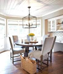 Dining Pendant Lights Room And Board Rustic Lighting Brown Wooden Table