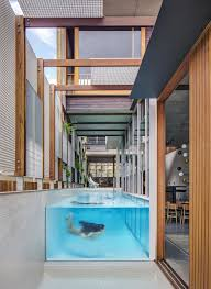 100 Bondi Beach House Living Screens Conceal A North And A Semi