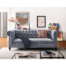 Velvet Tufted Beds Trend Watch Hayneedle by Bronze Nailhead Trim Rolled English Arms And Stunning Velvet