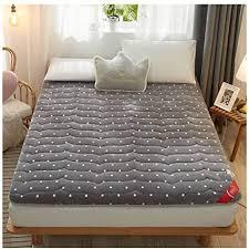de hzw gesteppte japanische boden futon matratze