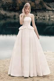 Handmade Ball Gown Wedding Mikado Dress With Corded Lace In Rustic Style
