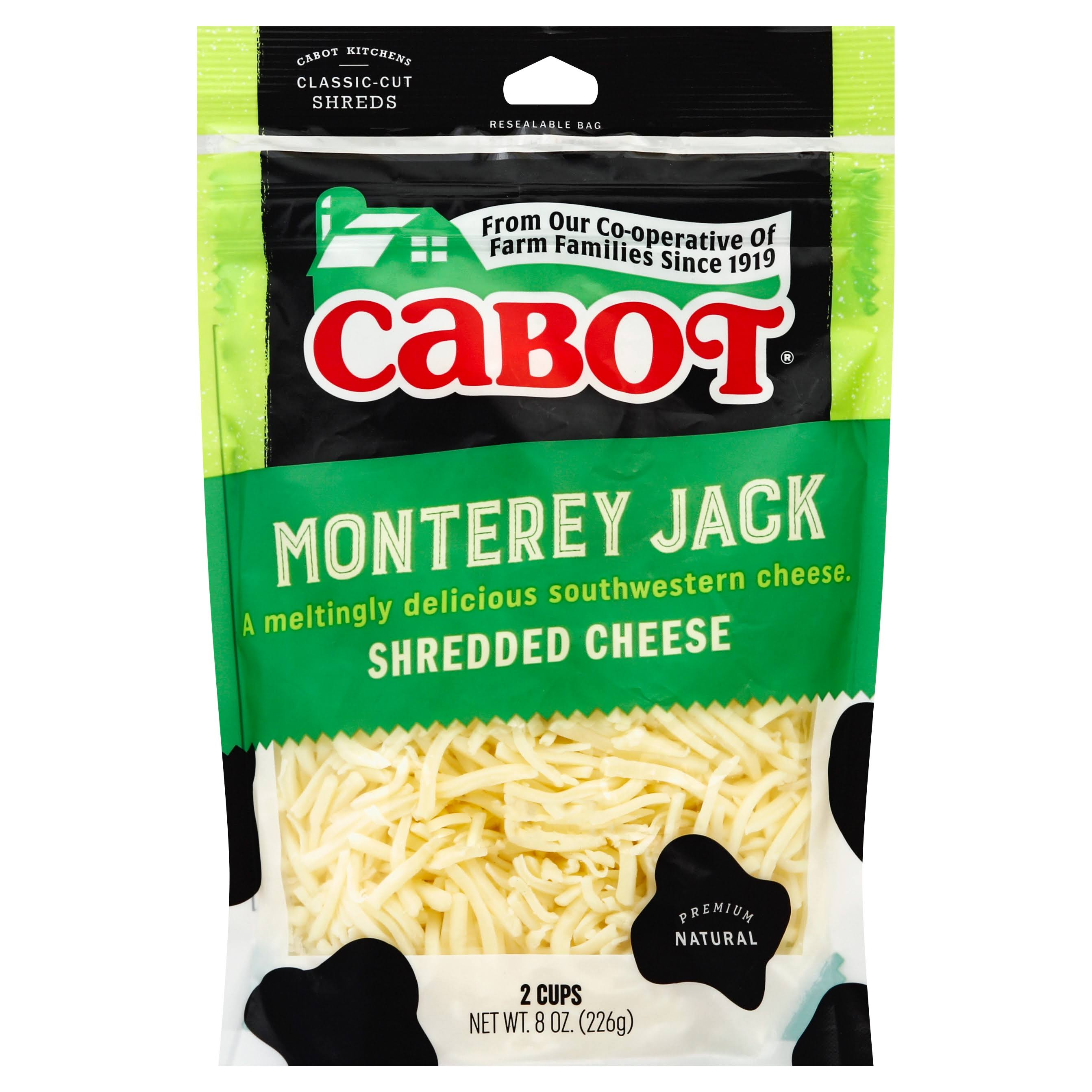 Cabot Monterey Jack Shredded Cheese