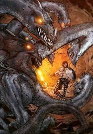 Greek Serpent Ladon And Hebrew Leviathan