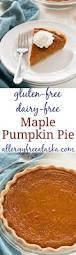 Pumpkin Pie With Gingersnap Crust Gluten Free by Gluten U0026 Dairy Free Maple Pumpkin Pie