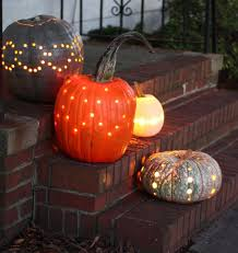 Halloween Pumpkin Carving With Drill by Drilled Pumpkins Inspiration Popsugar Home
