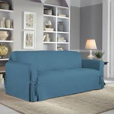 Bed Bath And Beyond Sure Fit Slipcovers by Buy Blue Slipcovers From Bed Bath U0026 Beyond