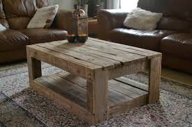 How To Make A Wood Pallet Coffee Table Plans Recycled Things Small Home Remodel Ideas