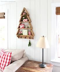 A Tree Shaped Wall Shelf