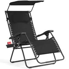 Gymax Folding Recliner Zero Gravity Lounge Chair W/ Shade Canopy Cup Holder  Black Gymax Folding Recliner Zero Gravity Lounge Chair W Shade Genuine Hover To Zoom Telescope Casual Beach Alinum Us 1026 32 Offoutdoor Sun Patio Lounge Chair Cover Fniture Dust Waterproof Pool Outdoor Canopy Rain Gear Pouchin Sails Nets Chaise With Gardeon With Beige Fniture Sunnydaze Double Rocking And 21 Best Chairs 2019 The Strategist New York Magazine Recling Belleze 2pack W Top Cup Holder Gray Decor 2piece Steel Floating Cushions