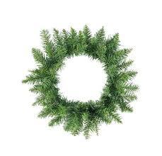Rustic Artificial Christmas Tree Buffalo Fir Wreath Unlit Looking Trees