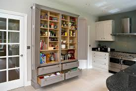 freestanding pantry cabinet in kitchen contemporary with paint for