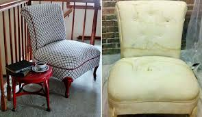 7 Inspiring DIY Chair Makeovers You Can Definitely Try At Home My Lazy Girls Guide To Reupholstering Chairs A Tutorial Erin Diyhow To Reupholster Ding Room Chair With Buttons Alo Pating Upholstery Paint Fniture Change And Fabric Fniture Simple Tips On How To Upholster Chair Chiapitaldccom 25 Unique Reupholster Couch Ideas On Pinterest Modern Sectional Modest Maven Vintage Blossom Wingback Reupholster A Wingback Chair Diy Projectaholic Seat Diy Make Arm Slipcovers For Less Than 30 Howtos Childs Upholstered Children S Best Upholstery Chairs