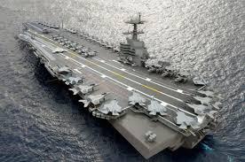 plus gros porte avion du monde le nouveau porte avions américain bientôt à la mer mer et marine