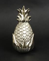 Brass or Nickel Pineapple Doorknocker