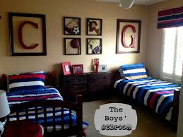 The Boys Sports Themed Bedroom