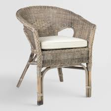 Gray Rattan Adrie Tub Chair By World Market   Products   Patio ... Shop Costway 4 Pieces Patio Fniture Wicker Rattan Sofa Set Garden Tub Chair Chairs Increase Beautiful Design To Your House Rattan Modern Shell Retro Design Outdoor Ding Asmara Oliver Bonas New Black Poly Spa Surround Hot Chic Tropical Cheap Find Deals On Line At Round Fan Lily Loves Shopping Gray Adrie By World Market Products Sets