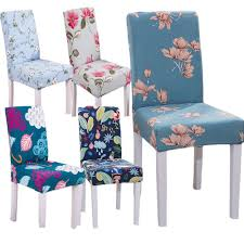 Hyha Floral Print Letter Dining Chair Cover Spandex Elastic Anti-dirty  Slipcovers Stretch Removable Hotel Banquet Seat Case Silver Stretch Spandex Banquet Chair Cover Balsacircle 50 Pcs White Polyester Covers For Party Wedding Linens Decorations Dning Ceremony Reception Supplies Hunter Green 57 Lifetime Folding Fuchsia Free Shipping Whosale 100pcs Universal Arm With For Plastic Outdoor Slipcovers Ivory Your Champagne Slip Premium Quality Ruched Fashion Ebay Sponsored 10pcs Scuba