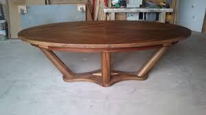 table de cuisine ovale grande table salle a manger 9 fabrication de tables de