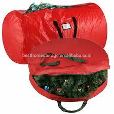 Christmas Tree Storage Tote Walmart by Christmas Wreath Storage Bag Christmas Wreath Storage Bag