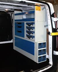 Van For Electrical Contractors Converted By Syncro System