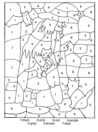 Winter Color By Addition Worksheets Number Hallow Coloring Pages Explore Sheets Numbers Butterflies Fall Free Advanced