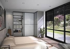 porte de placard chambre modèle méridien portes de placard sogal chambre