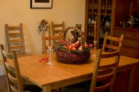 Rustic Dining Room Centerpiece With Beautiful Woven Basket And Two Glass Candle Sticks 16 Nice