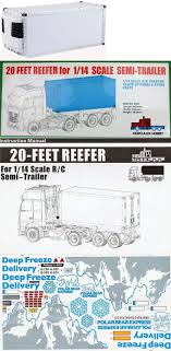 Industrial And Service Vehicles 182184: 20 Foot Reefer Container ... 42 1 16 Rc Tractor Head Trailer Trucks Buy This Selfdriving Truck Has No Room For A Human Driver Literally 114 Rear Bumper Euro Tamsemitrailer Ucktrailer Accsories Amazoncom Rc Remote Control Semi Truck Flatbed W Rc Trailer Temukan Harga Dan Penawaran Radio Online Bdingkan Semua Sale Mainan Mobil Remot Control Truk Molen Flatbedsemi Kit Traktor Tamiya Mercedesbenz Actros 3363 6x4 Gigaspace Scale Container Atrailer Complete Hitch Custom
