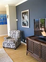 Navy Accent Wall Medium Size Of Blue Bedroom Walls Ideas
