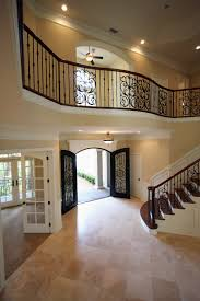 Amazing Open Foyer With Beautiful Stair Case And Balcony, Black ... Front Home Design Ideas And Balcony Of Ipirations Exterior House Emejing In Indian Style Gallery Interior Eco Friendly Designs Disnctive Plan Large Awesome Images Terrace Decoration With Plants Outdoor Stainless Steel Grill Art Also Wondrous Youtube India Online Tips Start Making Building Plans 22980 For Small Houses Very Patio This Spectacular Front Porch Entryway Cluding A Balcony