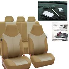 100 Best Seat Covers For Trucks BESTFH Car Full Set In Beige Car SUV Free Gift