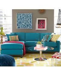 Macys Elliot Sofa Sectional by Cirillo Macys Fabric Sofa Chic Luggage Stitching Sleek Lines Track