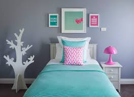 Ive Just Finished This Cool Mint And Pink Room For A 10 Year Old