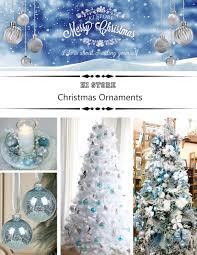 Christmas Tree Amazon Local by Amazon Com Ki Store 24ct Christmas Ball Ornaments Shatterproof