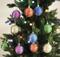 Shatterproof Christmas Tree Ornaments