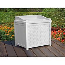 Suncast 195 Gallon Deck Box Manual by Deck Storage U0026 Hose Storage Sam U0027s Club