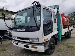 100 Surplus Trucks Isuzu Forward Boom Truck Japan And Heavy
