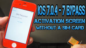 How to Bypass & Hacktivate iOS 7 0 4 7 Activation Screen Without A Sim Card iPhone 4 ONLY