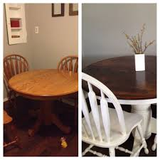 My Before And After. Gave An Old Oak Table And Chairs A ... Different Aspects Of Oak Fniture All About Fniture And Mattress News Buying Guide Latest Trends Ding Room Table 4 Chairs In Bb7 Valley For 72500 Oak Table Leeds 15000 Sale Shpock With Chairsmeeting 30 Extendable Tables Commercial Used German Standard And Chair Sets Buy Fnituregerman The 1 Premium Solid Wood Furnishings Brand 6 Chairs Set White Rustic Farmhouse Natural Country Amazoncom Desks Childrens Study