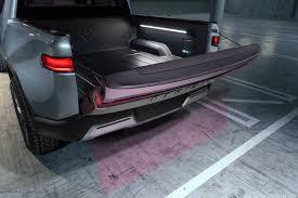 100 Truck Bed Seats Rivian R1T Electric Pickup Shocks World In LA Debut