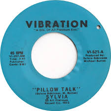45cat Sylvia Pillow Talk My Thing Vibration USA VI 521