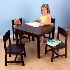Kidkraft Easel Desk Espresso kidkraft farmhouse 5 piece table and chairs set free shipping
