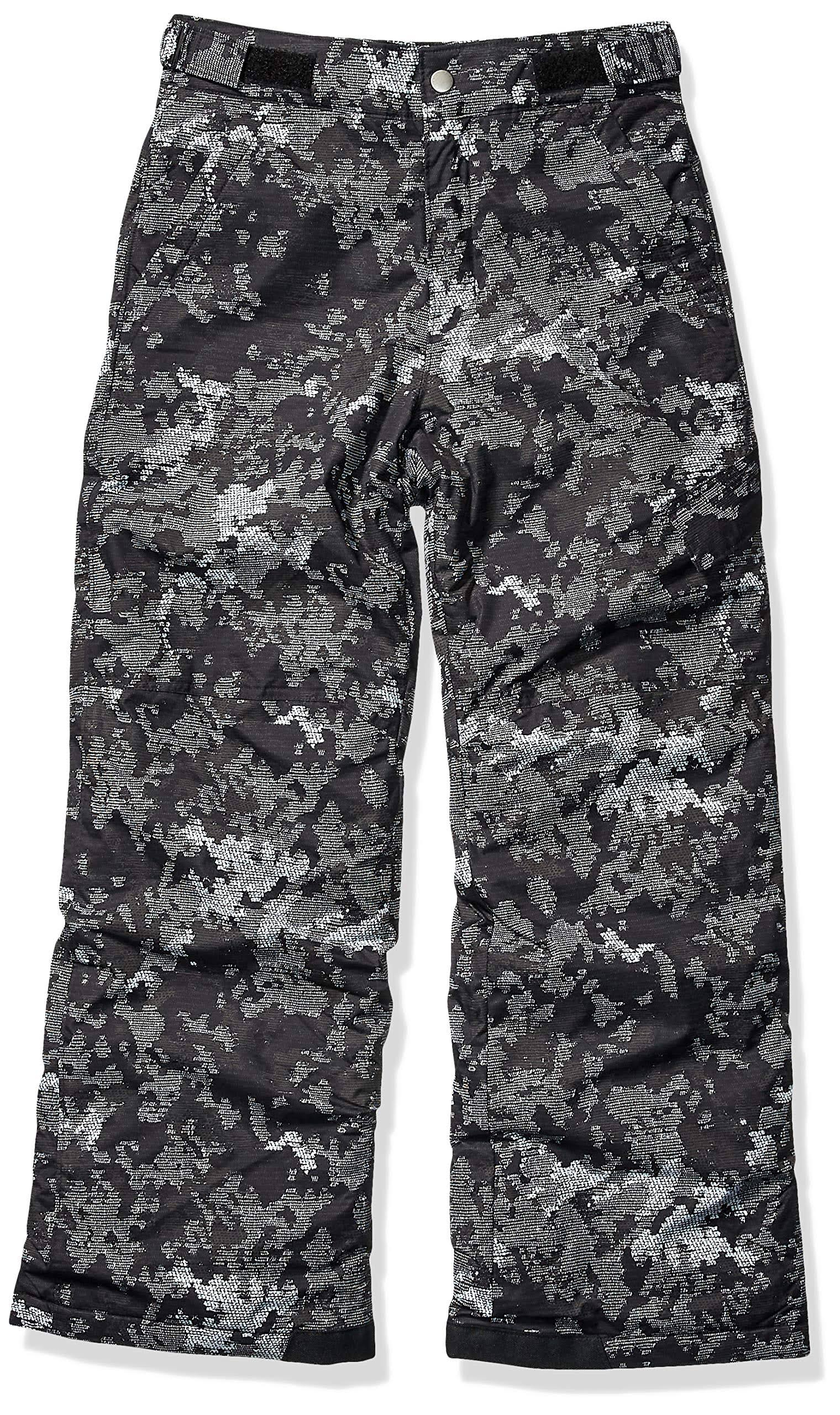 Columbia Youth Ice Slope II Insulated Pants, Size: Small, Black