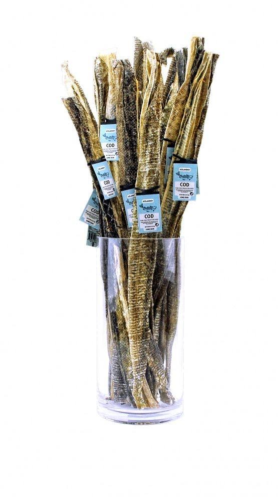 Icelandic+ Cod Long Skin Sticks Fish Dog Treats