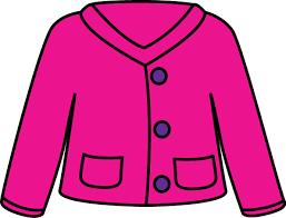 Pink Cardigan Sweater Clip Art